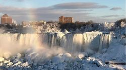▶ Niagara Falls Somehow Gets Even More Stunning In The Freezing