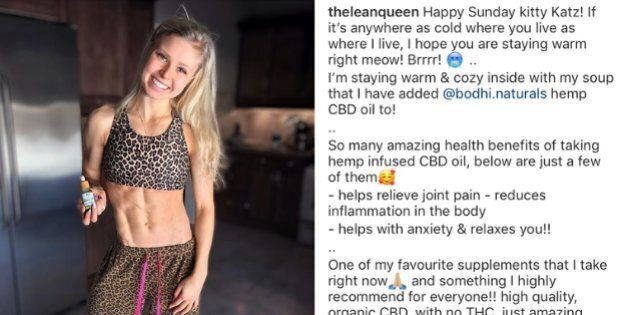 Kyla Ford, the daughter of Ontario Premier Doug Ford, posted photos on Instagram promoting cannabis