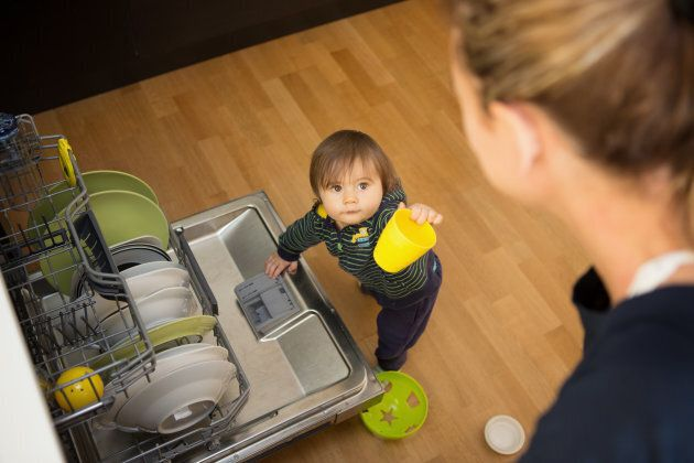 "Try narrating your day-to-day activities, such as ""we are unloading the dishwasher!"""