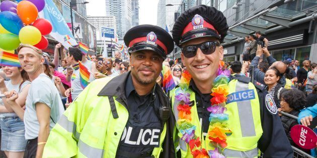 Pride Toronto has voted to ban uniformed police officers from marching in this year's