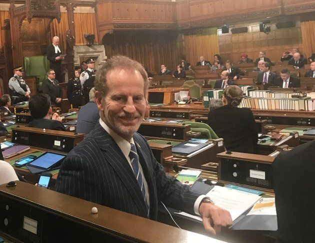 Liberal MP Nicola Di Iorio is pictured in the House of Commons on Parliament Hill in