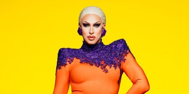 Drag queen performer Brooke Lynn Hytes will be the first Canadian competitor