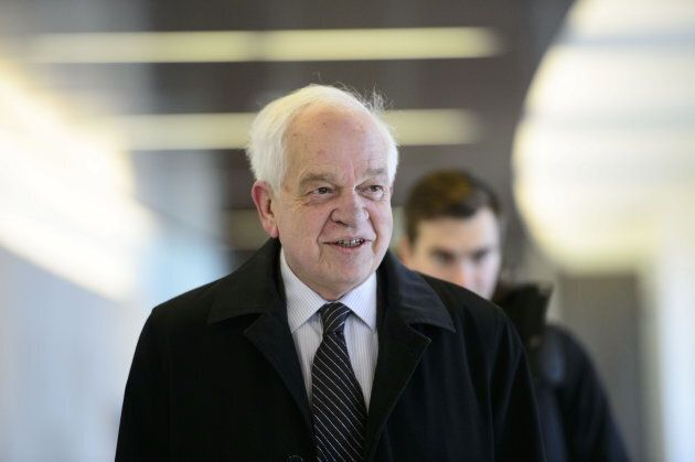 John McCallum in Ottawa on Jan. 18,