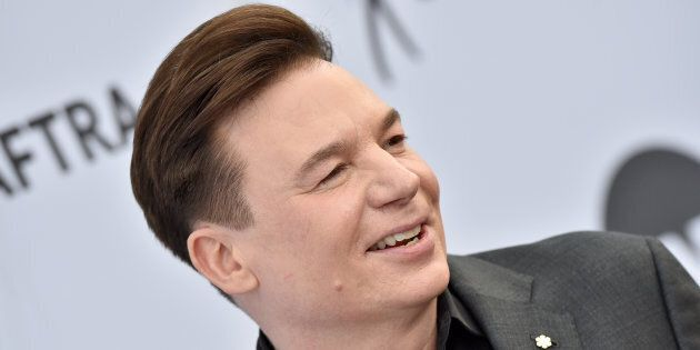 Mike Myers attends the 25th Annual Screen Actors Guild Awards at The Shrine Auditorium on Jan. 27, 2019...