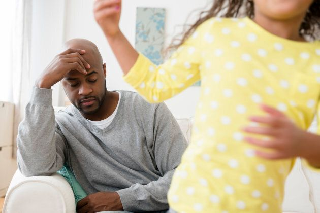 Most men won't get help for perinatal mental illness unless their partner tells them to.