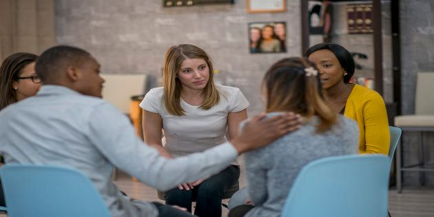 Support groups can help newcomers process their emotions and feelings.