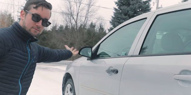 Ontario photographer Reid Zandbelt filmed an ad for his 2005 Chevrolet