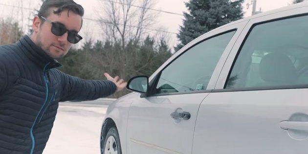 Ontario photographer Reid Zandbelt filmed an ad for his 2005 Chevrolet Cobalt