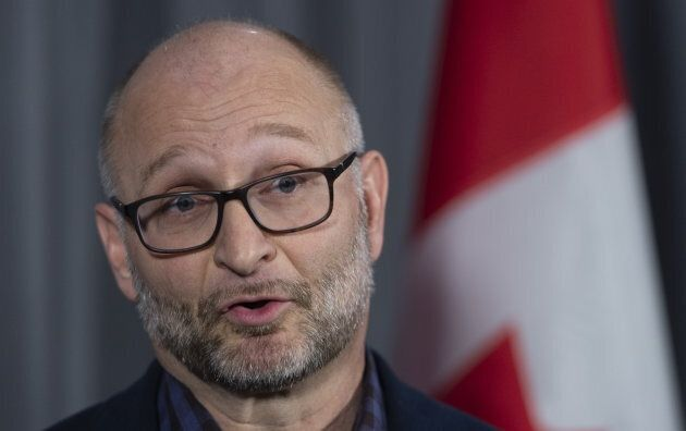 Justice Minister David Lametti in Sherbrooke, Que. on Jan. 17,