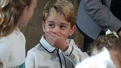Prince George Introduces Himself To Strangers As