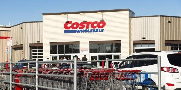 A Costco in Mississauga, Ont., on May 15,