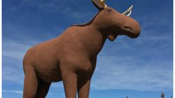 A Truce May Be On The Horizon In Canada And Norway's Moose Statue