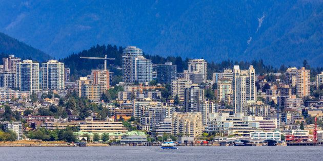 The skyline of Vancouver's North Shore. The city has seen a large spike in the number of homes for sale as buyers retreat from the market.