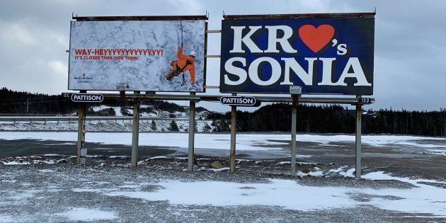 People are wondering about these mysterious billboards near Conception Bay,