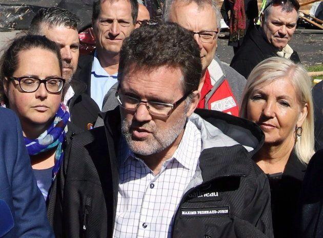 Gatineau Mayor Maxime Pedneaud-Jobin on Sept. 22,