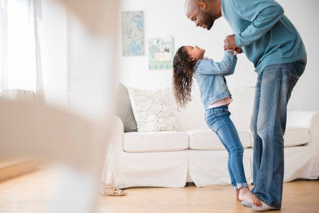 Dads in the study were more likely to report that they played with their kids.