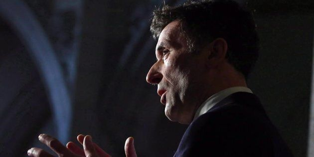 Paul Dewar, former NDP Foreign Affairs on Parliament Hill in Ottawa on Jan. 30, 2015. Dewar died Wednesday...