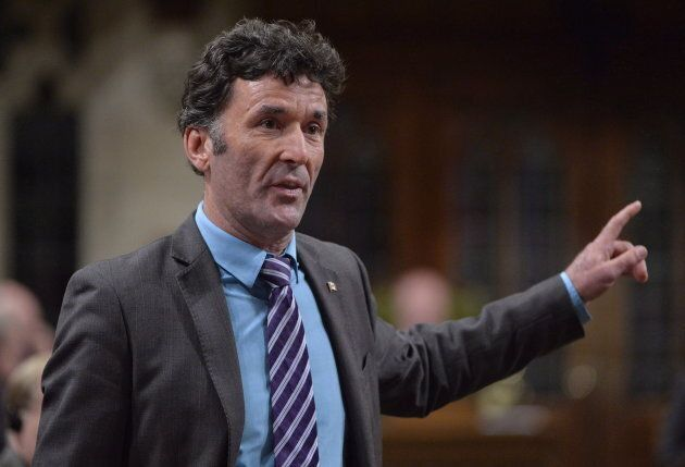 Paul Dewar in the House of Commons in Ottawa on Sept. 29,