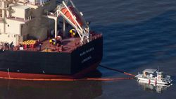 Cargo Ship That Spilled Oil Into Vancouver's English Bay