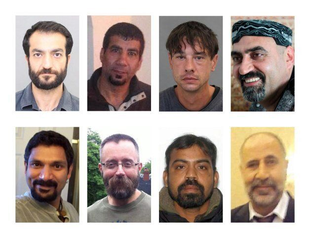 Serial killer Bruce McArthur's victims are shown in these Toronto Police Service handout photos. Top...