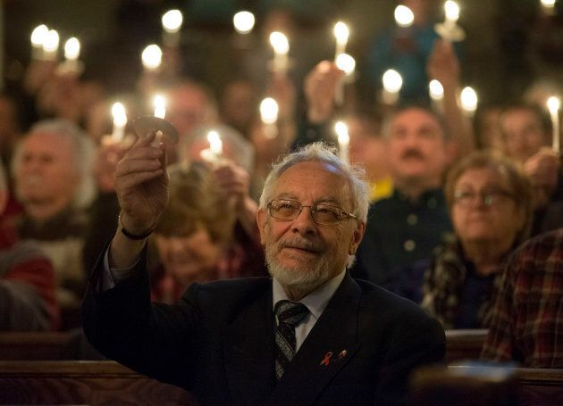 The Metropolitan Community Church held a candlelight prayer vigil for the victims of serial killer Bruce...
