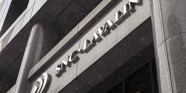 The head office of SNC Lavalin in Montreal, Thurs. Feb. 19,