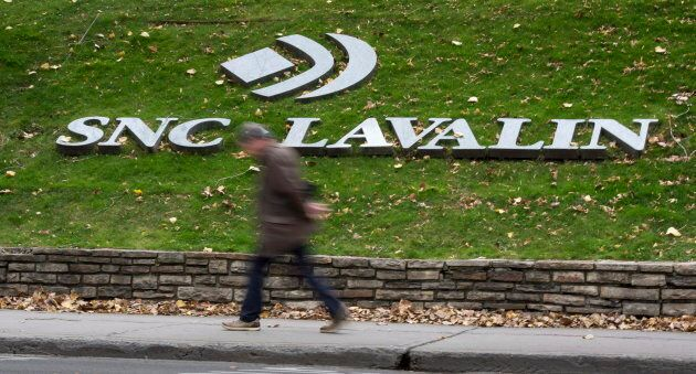 The headquarters of SNC Lavalin in Montreal on Nov. 6,