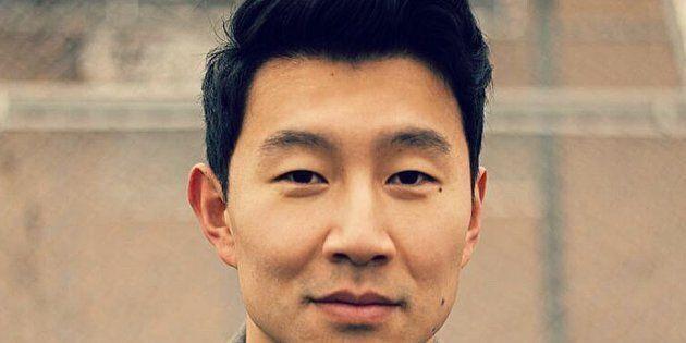 Canadian actor Simu Liu, who stars