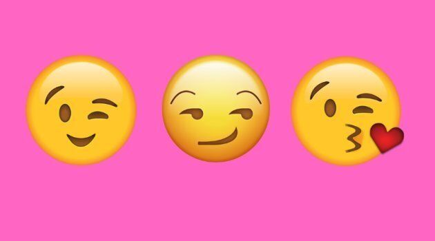 These three emojis are the most popular faces sent during