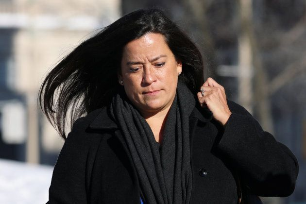 Jody Wilson-Raybould, former Canadian justice minister, walks on Parliament Hill in Ottawa on