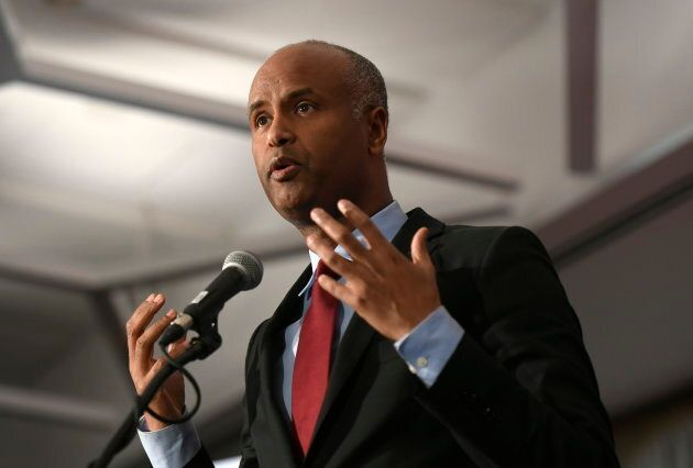 Minister of Immigration, Refugees and Citizenship Ahmed Hussen in Ottawa on Feb. 4,