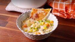 ▶️ Chicken Pot Pie Soup Is 2 Comfort Foods In