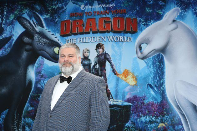 Canadian director Dean DeBlois at the premiere of 'How To Train Your Dragon: The Hidden World' in Los Angeles, on Feb. 9, 2019.