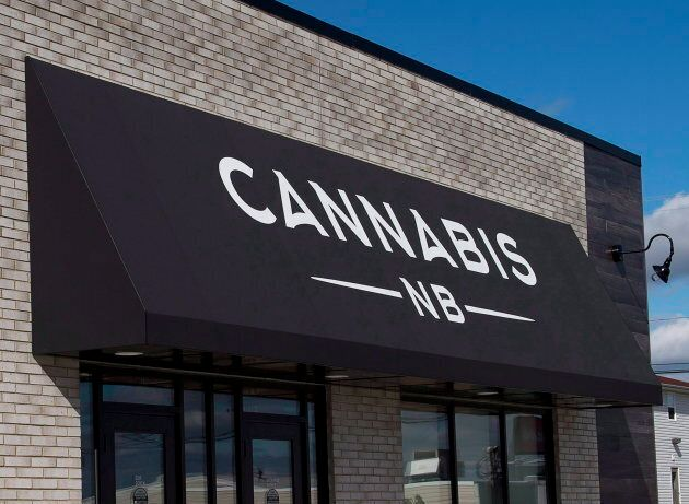One of 20 Cannabis NB retail stores across New Brunswick.