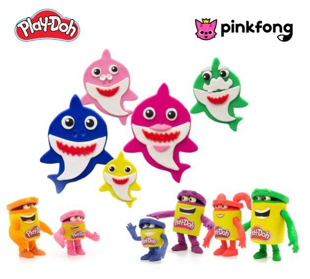 Hasbro has partnered with Pinkfong for a Baby Shark Play-Doh set.