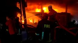 Deadly Fire Rips Through Centuries-Old Shopping District In