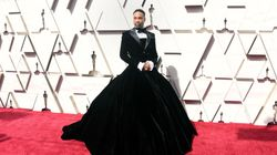 The Showstopping (And Shiny) Outfits From The Oscars Red