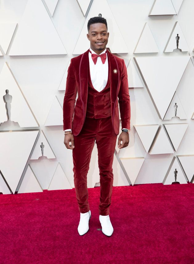Stylish Stephan James will present at the