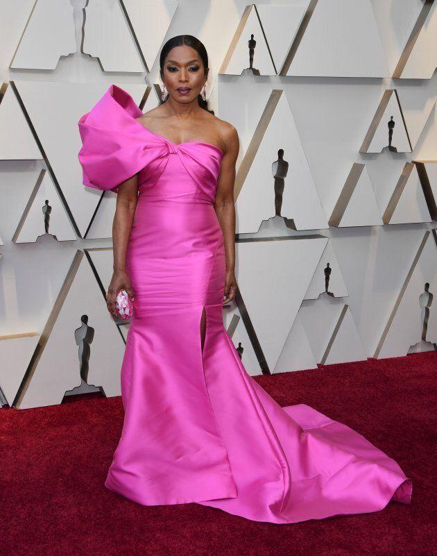 Angela Bassett at the Oscars on Sunday