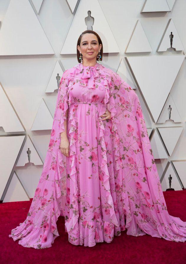 Maya Rudolph at the Oscars on Sunday