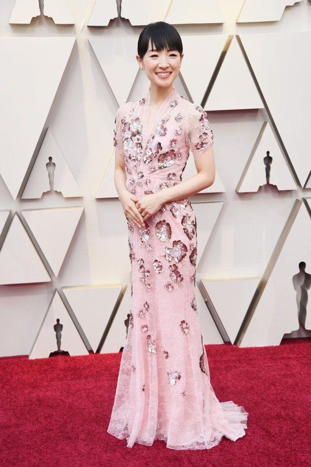 Marie Kondo at the Oscars on Sunday