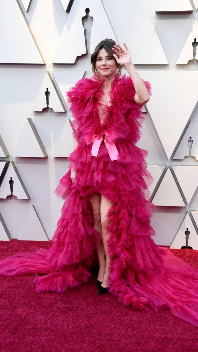 Linda Cardellini at the Oscars on Sunday