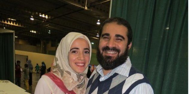 Amal Ahmed Albaz says she has not heard from her father ever since he was detained in Egypt on Feb. 18.