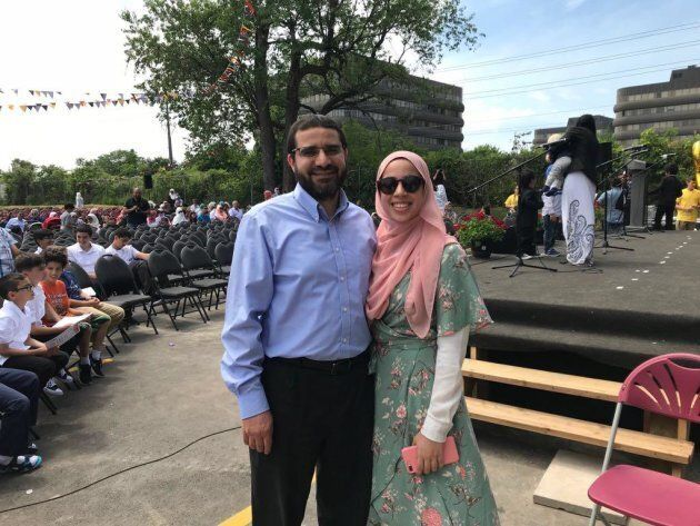 Oakville, Ont.-based engineer Yasser Ahmed Albaz, pictured with his daughter Maryam, has not been able...