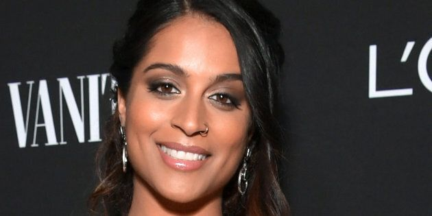 Lilly Singh is seen as Vanity Fair and L'Oréal Paris Celebrate New Hollywood on February 19, 2019 in...