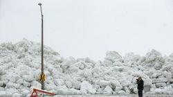 Watch As Lake Erie Sends A Massive 40-Foot 'Ice Tsunami' Crashing