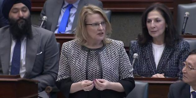 Ontario Minister of Community Safety Sylvia Jones defends Premier Doug Ford's alleged request for a souped-up camper van during question period on Tuesday.