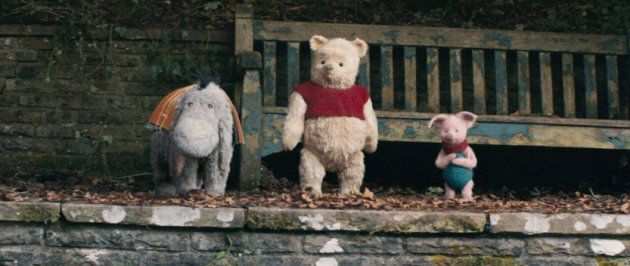 How can you not love Eeyore, Pooh and Piglet in Disney's live-action adventure