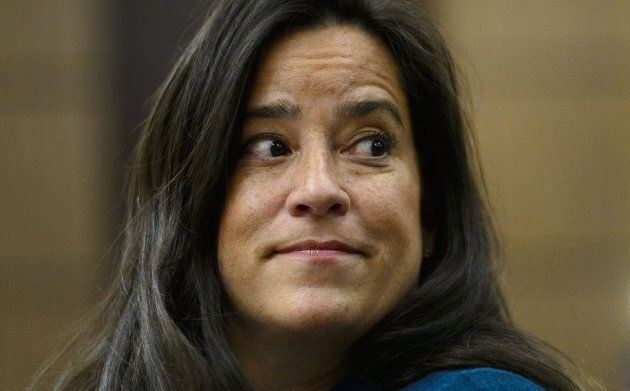 Jody Wilson-Raybould appears at the House of Commons Justice Committee on Parliament Hill in Ottawa on