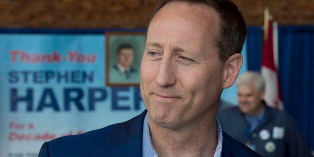 Peter MacKay is seen at the Conservative party convention in Vancouver on May 27,